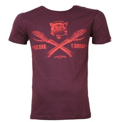 Yakuza Premium T-Shirt YPS 2618 burgundy – Bild 2