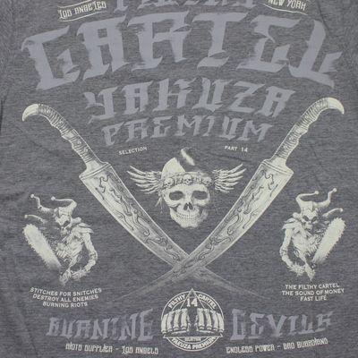 Yakuza Premium T-Shirt YPS 2603 grau – Bild 3