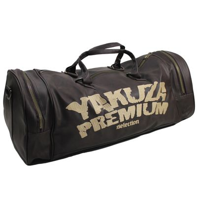 Yakuza Premium sports bag dark brown natural – Bild 1