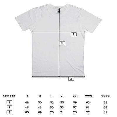 Yakuza Premium T-Shirt VINTAGE 404 blue washed – Bild 5