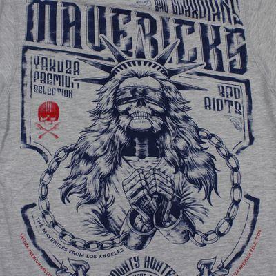 Yakuza Premium T-Shirt YPS 2713 grau – Bild 3
