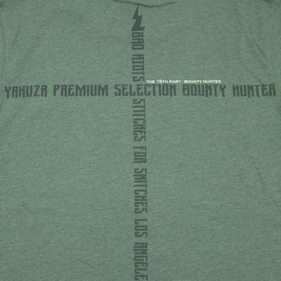 Yakuza Premium men t-shirt YPS 2706 olive green – Bild 4