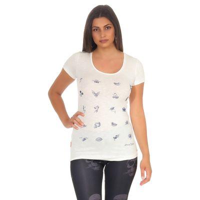 Yakuza Premium women t-shirt GS 2735 natural white – Bild 1