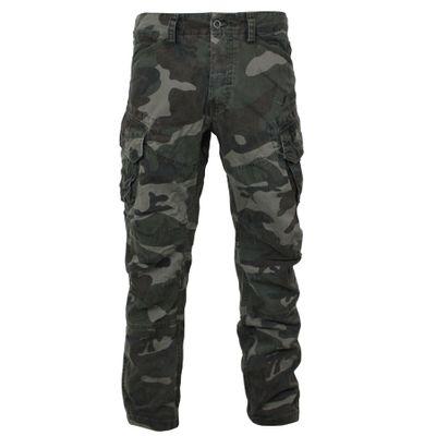 Yakuza Premium men cargo pants NOS 2666 black camo – Image 2