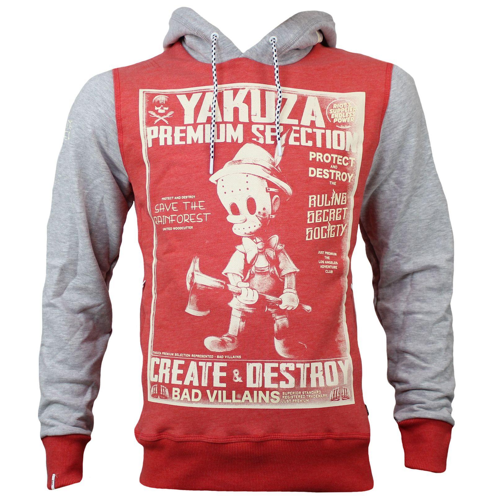 Yakuza Premium Sweatshirt YPH 2825 rot   YAKUZA PREMIUM Official Store