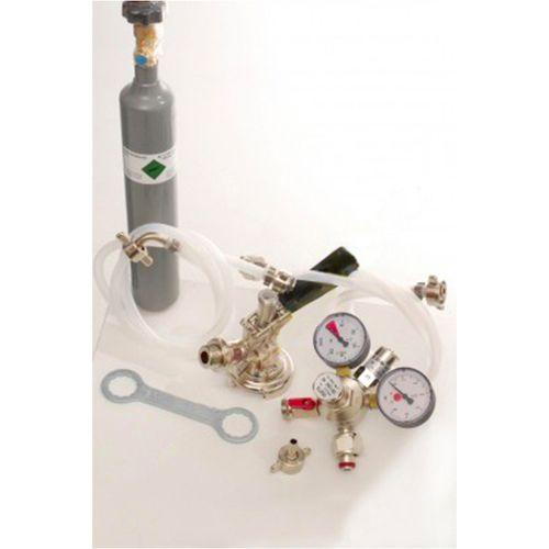 Zubehörpaket 1 mit Kombi Fitting, 10mm Bierschlauch und 0,5 kg CO2 Flasche  – Bild 2