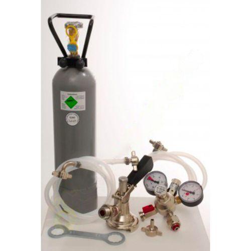 Zubehörpaket für Kontakt 2-leitig mit 1x Korb Zapfkopf und 1x Köpi Zapfkopf und 2 kg Co2 Flasche