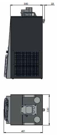 Untertheken-Wasserkühlgerät, UTWK - CWP 200, 200 Liter/h - 6-leitig – Bild 2