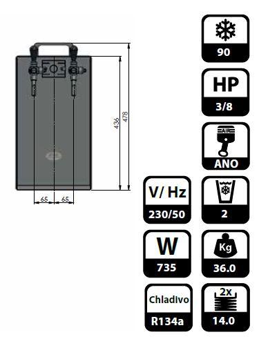 Zapfanlage Kontakt 70/K 2-leitig aus Edelstahl, 90 Liter/h, mit Membranpumpe,Bierzapfanlage – Bild 6