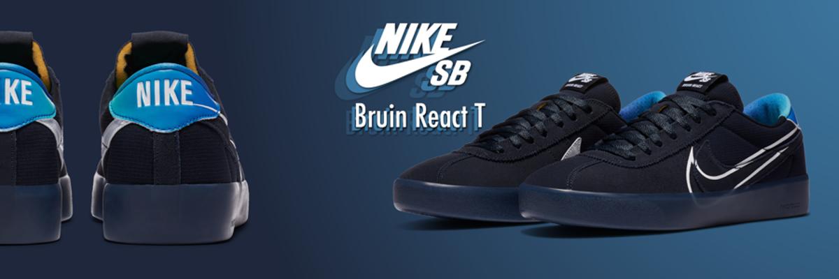 Nike SB Sneaker Bruin React T Dark Obsidian