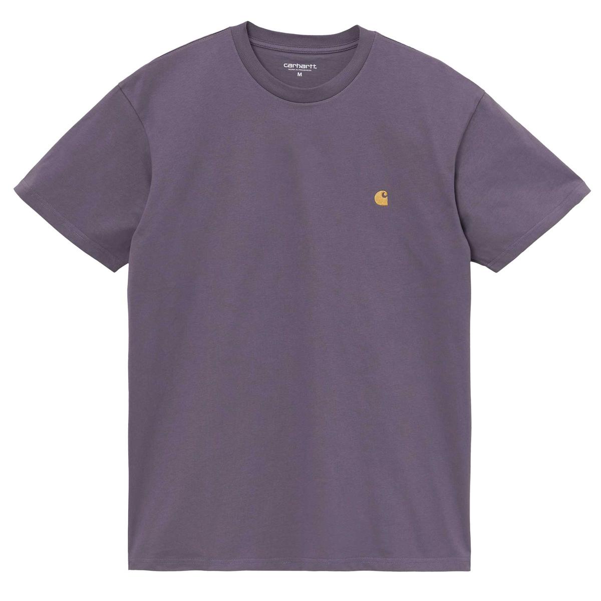 Carhartt WIP T-Shirt Chase Lila