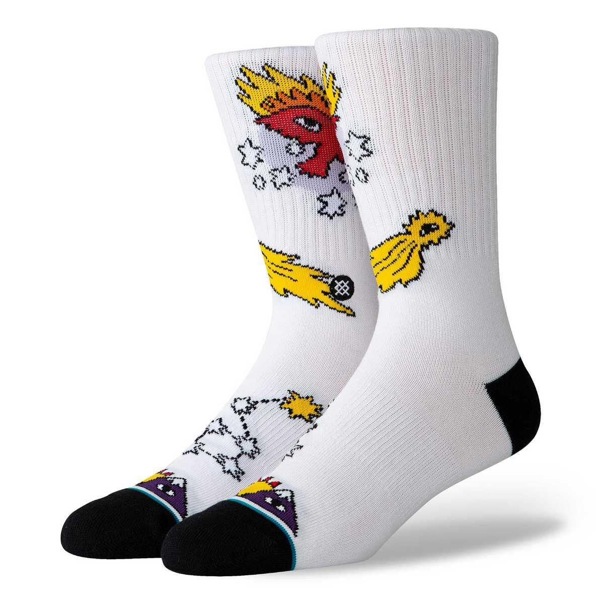 Stance Socken Cavolo Egale Star Weiß