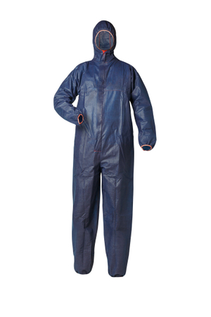 ALLREDO PP40 Disposable Overalls for Hoof Trimming, Dark Blue
