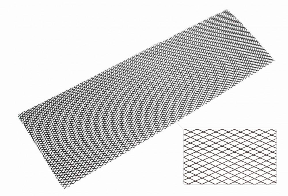 TA Technix Renngitter 135 x 30cm/12 x 25mm, Alu schwarz-beschichtet