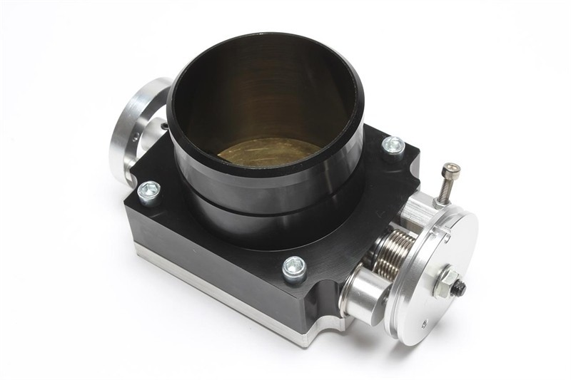 TA-Technix universelle Drosselklappe, 80mm, schwarz