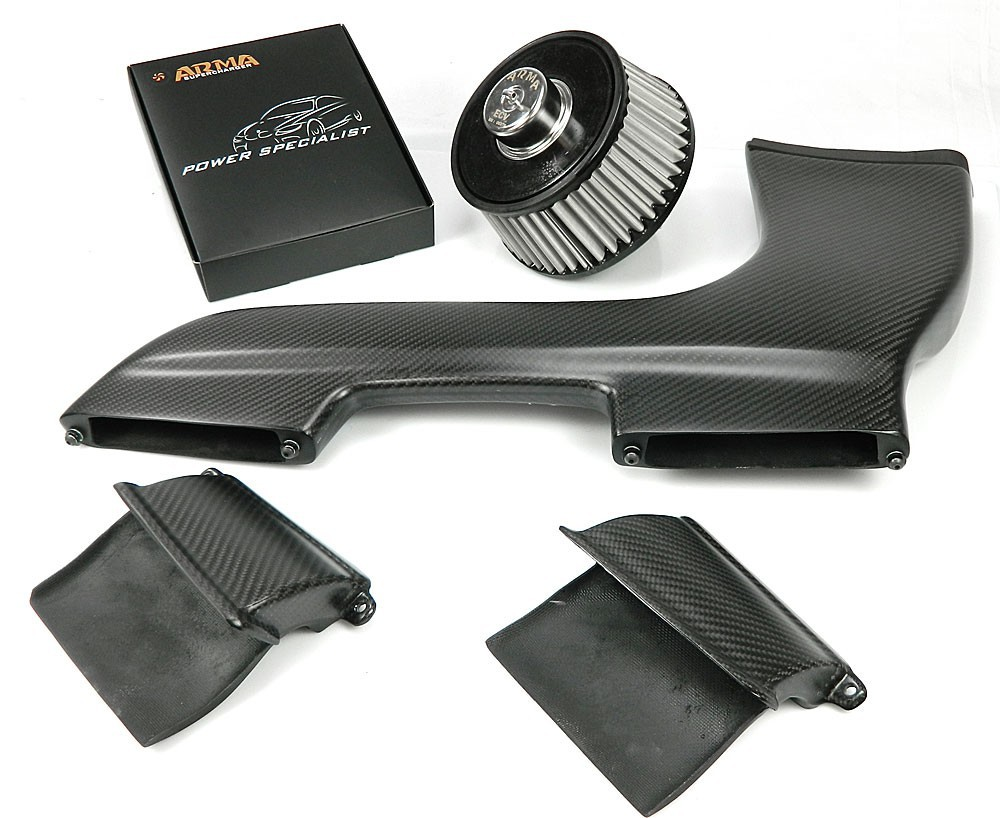 ARMA Carbon Airbox Variable Air Intake BMW E87.82 135 1M N54B30