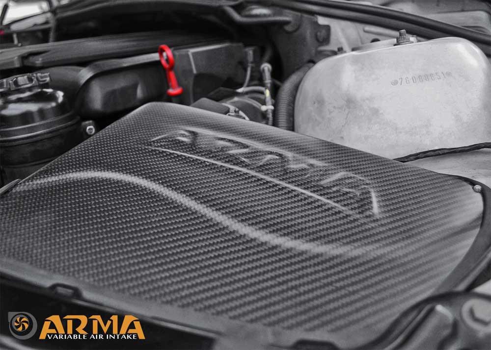 ARMA Carbon Airbox Air Intake BMW E46 (M52B25 M54B30)