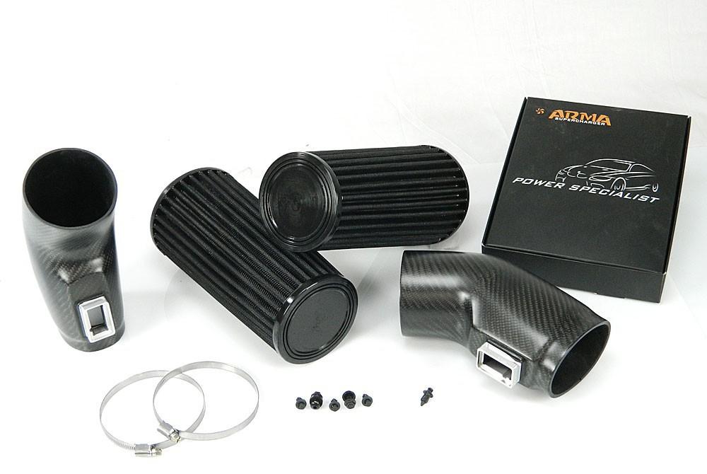 ARMA Carbon Airbox Air Intake Mercedes Benz W204 C63 AMG (M156-KE63)