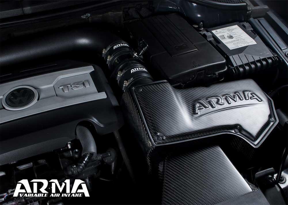 ARMA Carbon Airbox Air Intake VW Golf 6 R