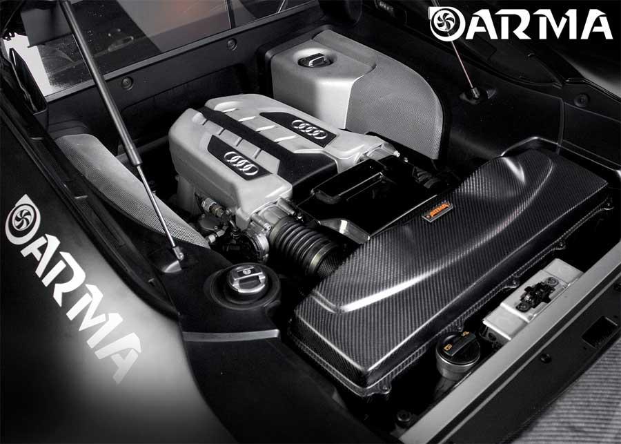 ARMA Carbon Airbox Air Intake Audi R8 V10