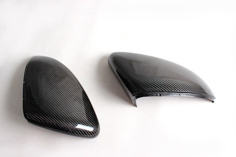 Echt-Carbon Spiegel-Abdeckung Spiegelkappen - VW GOLF VII GTI + R