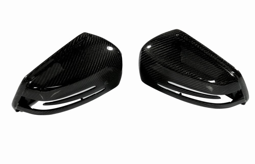 Carbon Spiegelkappen Abdeckung - Mercedes Benz W212 E-Klasse