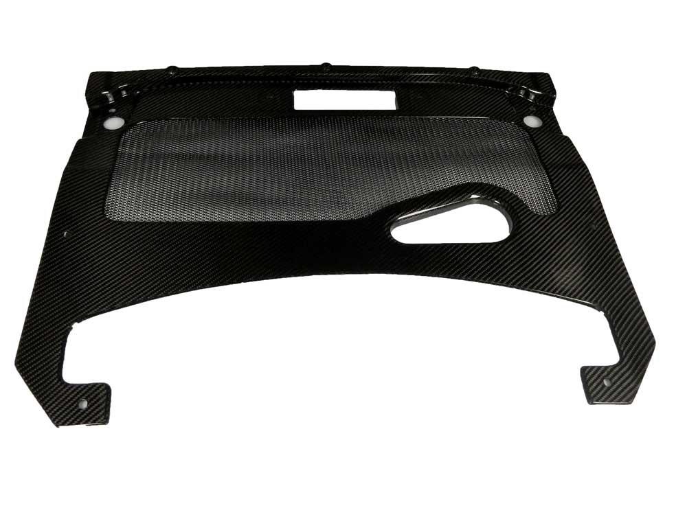 Carbon, große Motorabdeckung Vorne - Lamborghini Gallardo LP550 LP560 LP570