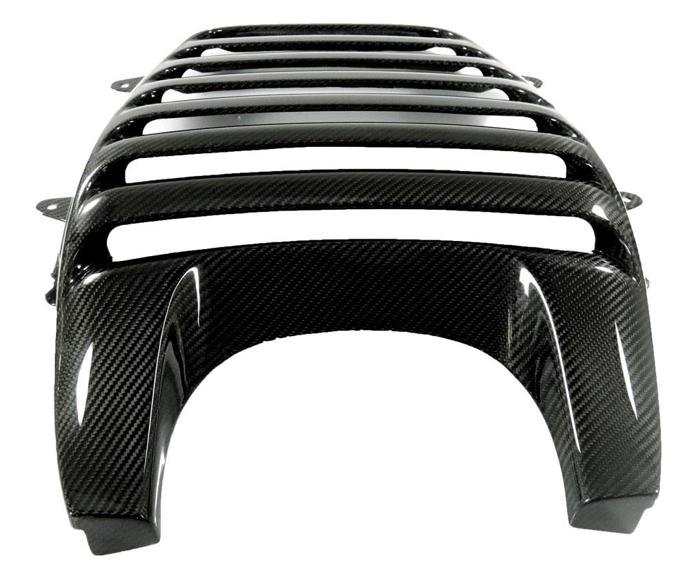 Echt-Carbon, Auspuff-Abdeckung / Ram-Air, Entlüftung - McLaren MP4-12C , 650S