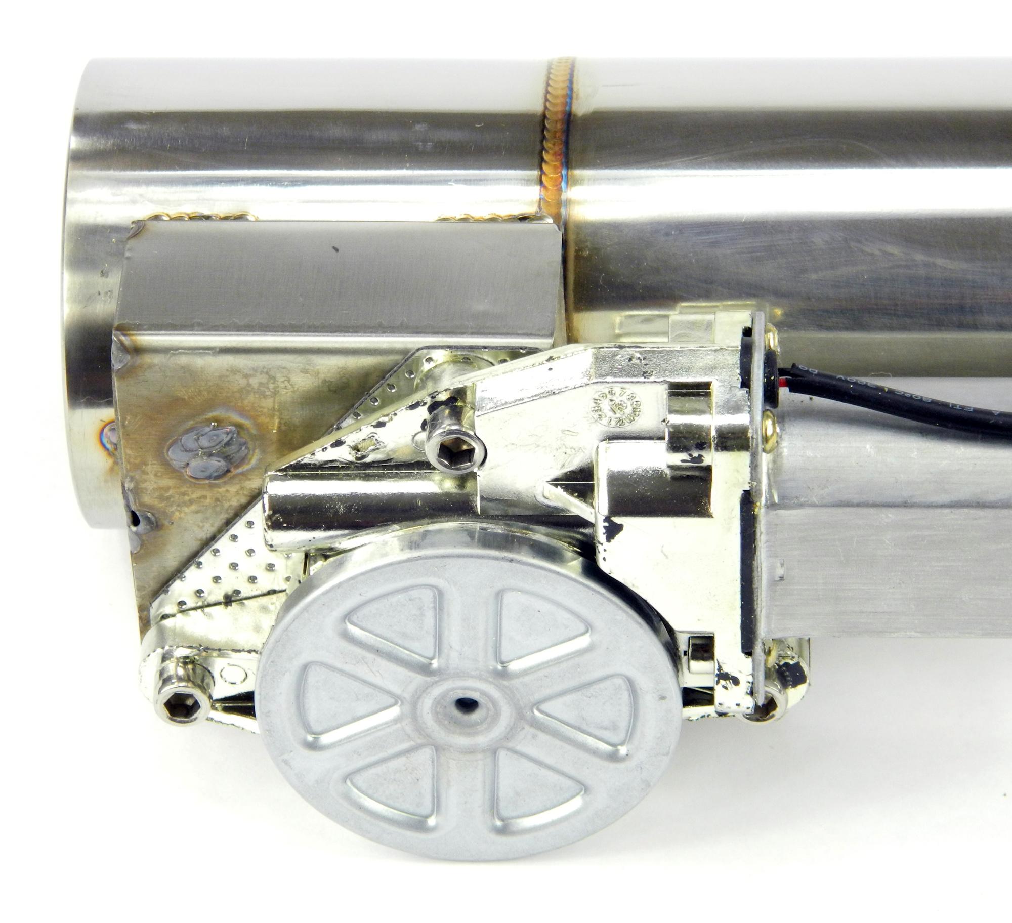 Klappenauspuff-System aus Edelstahl, elektrisch inkl. Fernbedienung - 76mm Außendurchmesser
