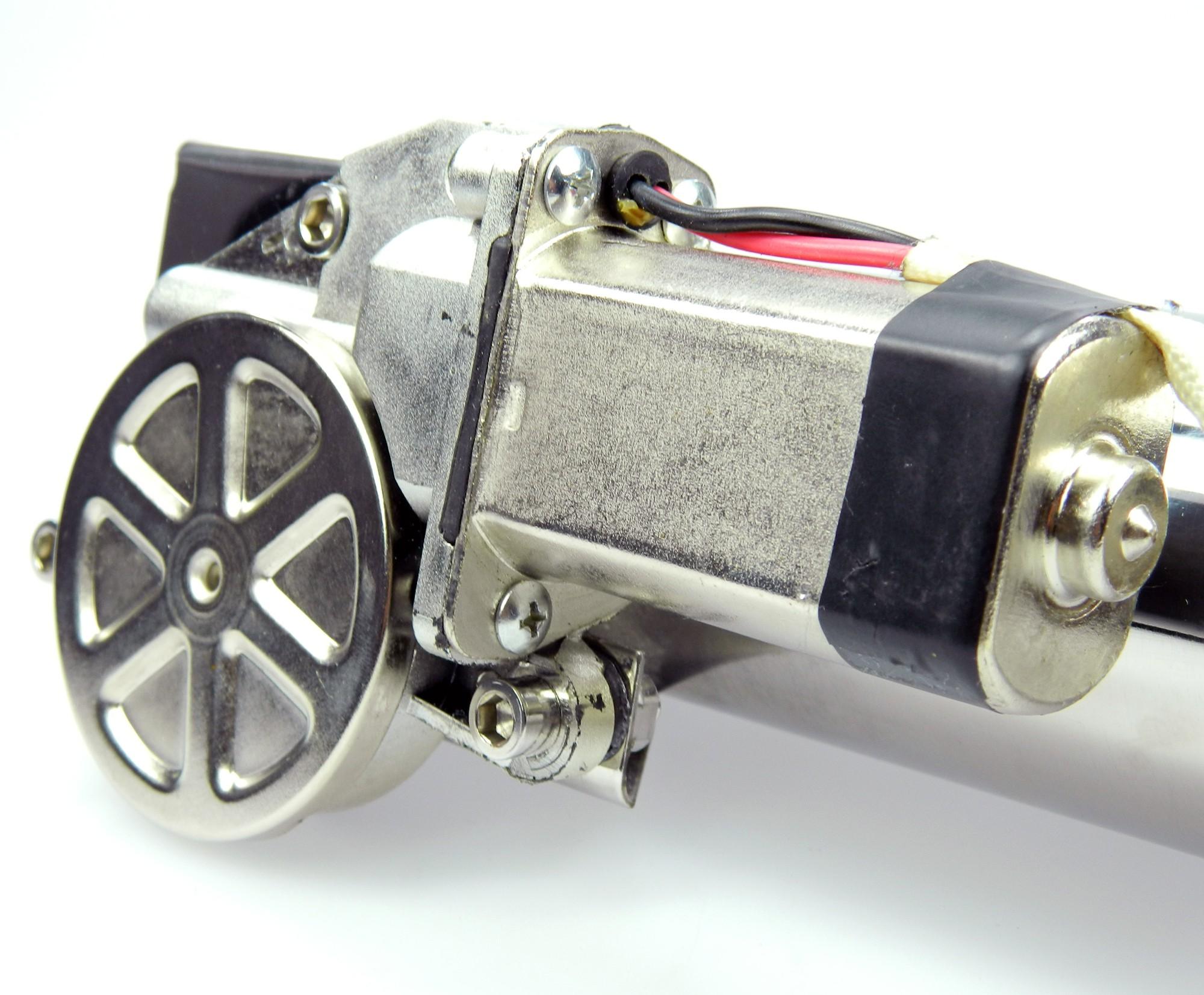 Klappenauspuff-System aus Edelstahl, elektrisch inkl. Fernbedienung - 63,5mm Innendurchmesser