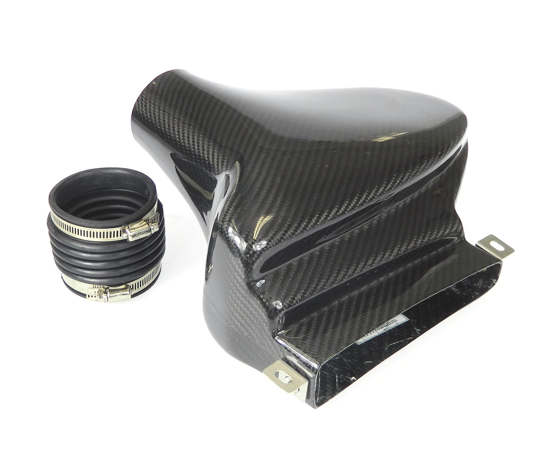 Carbon Staudrucksammler, Air-Ram-System - VW Golf AUDI A3 SEAT SKODA 2.0 TSI TFSI GTI, mit K03 + K04 Turbolader