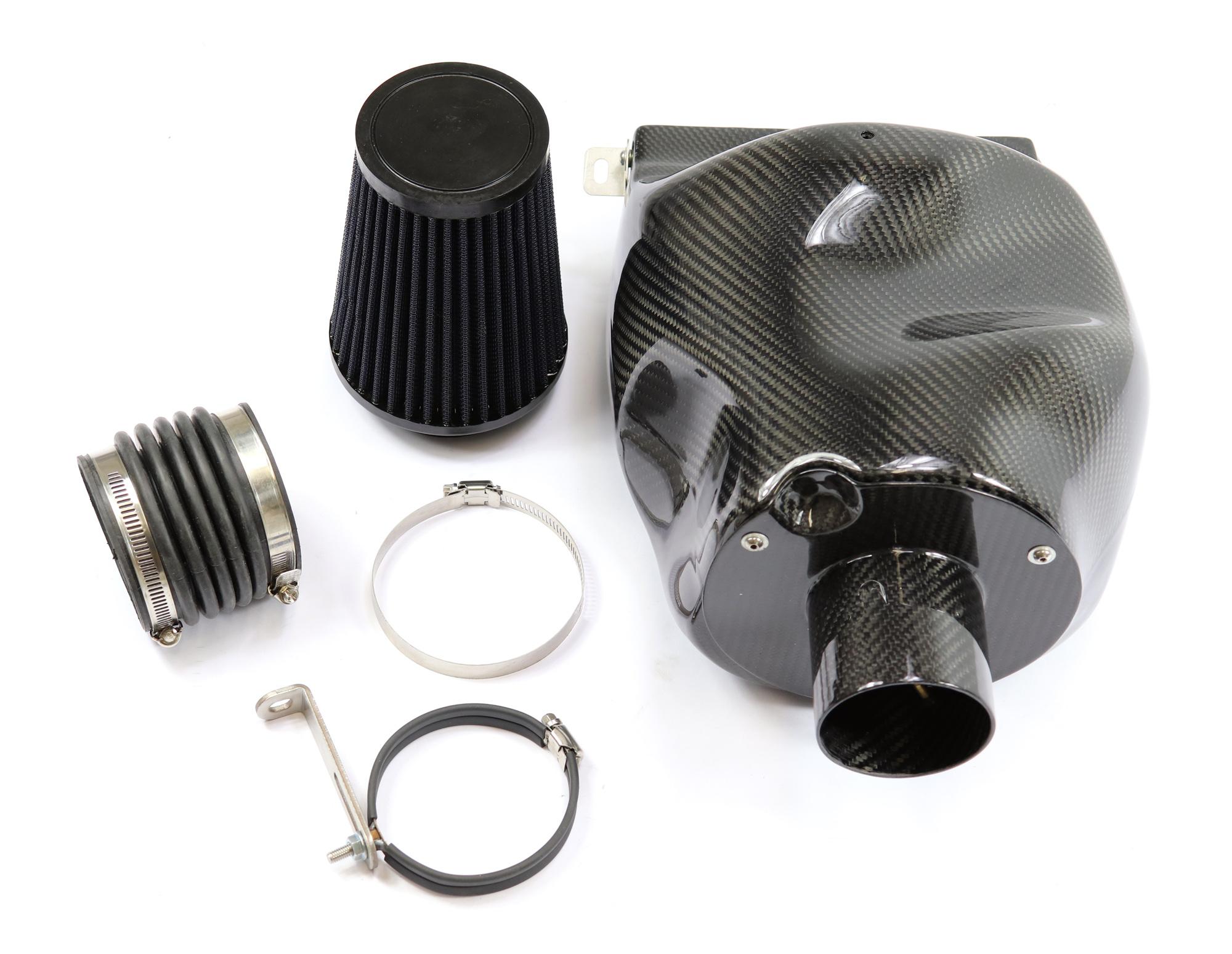 Carbon Airbox Air-Intake Lufteinlass für TDI Motoren: Golf 6 Golf 5 Audi A3 Jetta 3 - 2.0 TDI