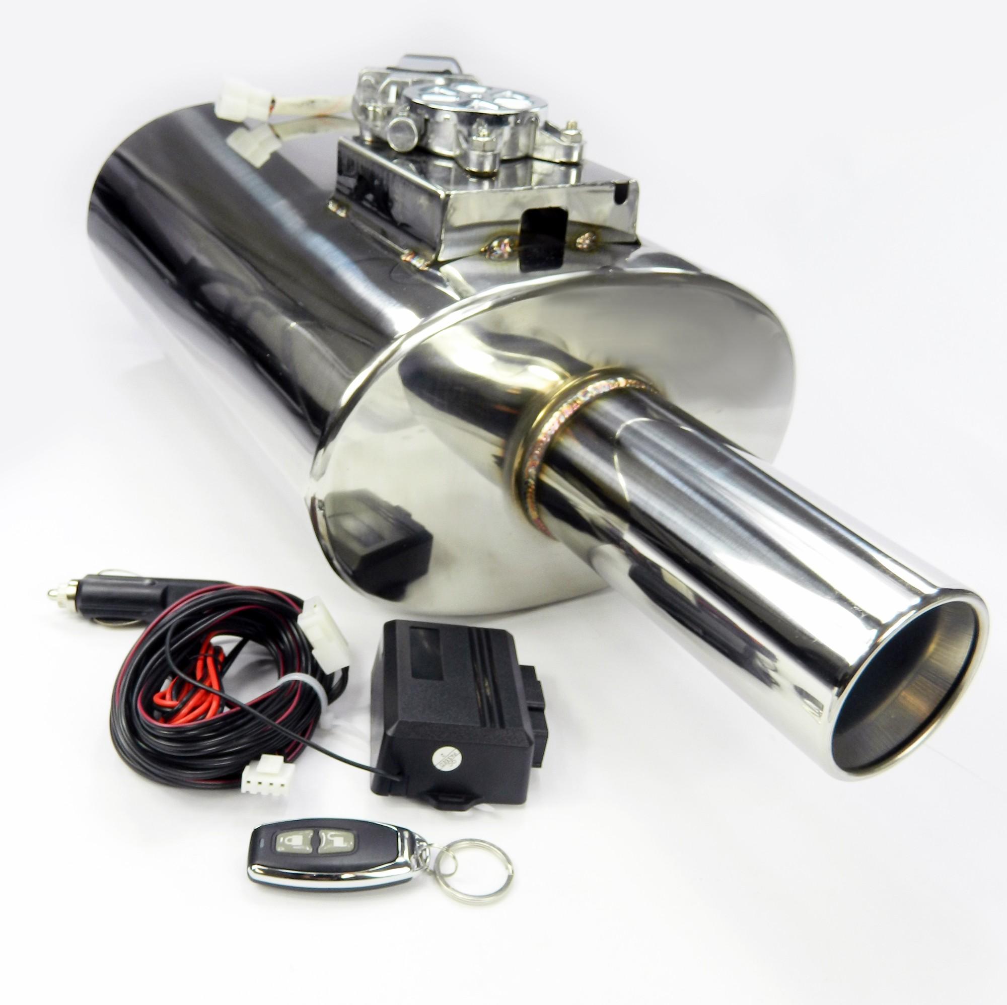 Las v lvulas de escape silenciador plegado con integrado - Extractor integrado ...