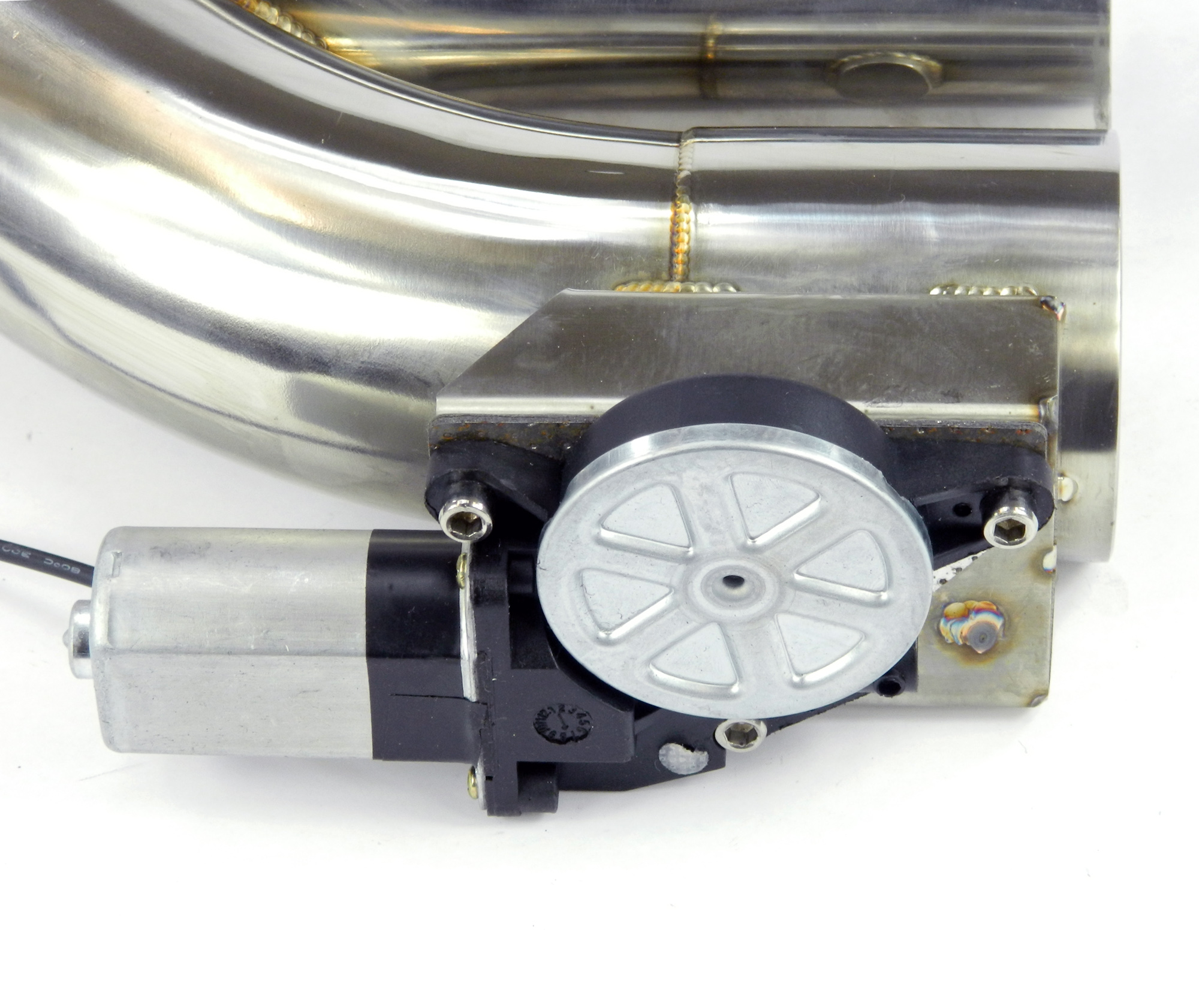Klappenauspuff-System Y-Rohr, elektrisch inkl. Schalter - 70mm Außendurchmesser