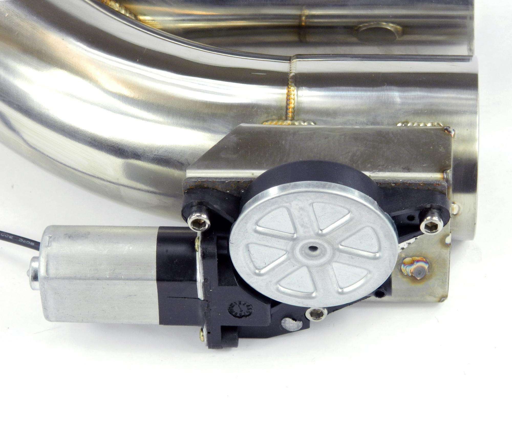 Klappenauspuff-System Y-Rohr extended Bypass, elektrisch inkl. Fernbedienung - 63mm Außendurchmesser