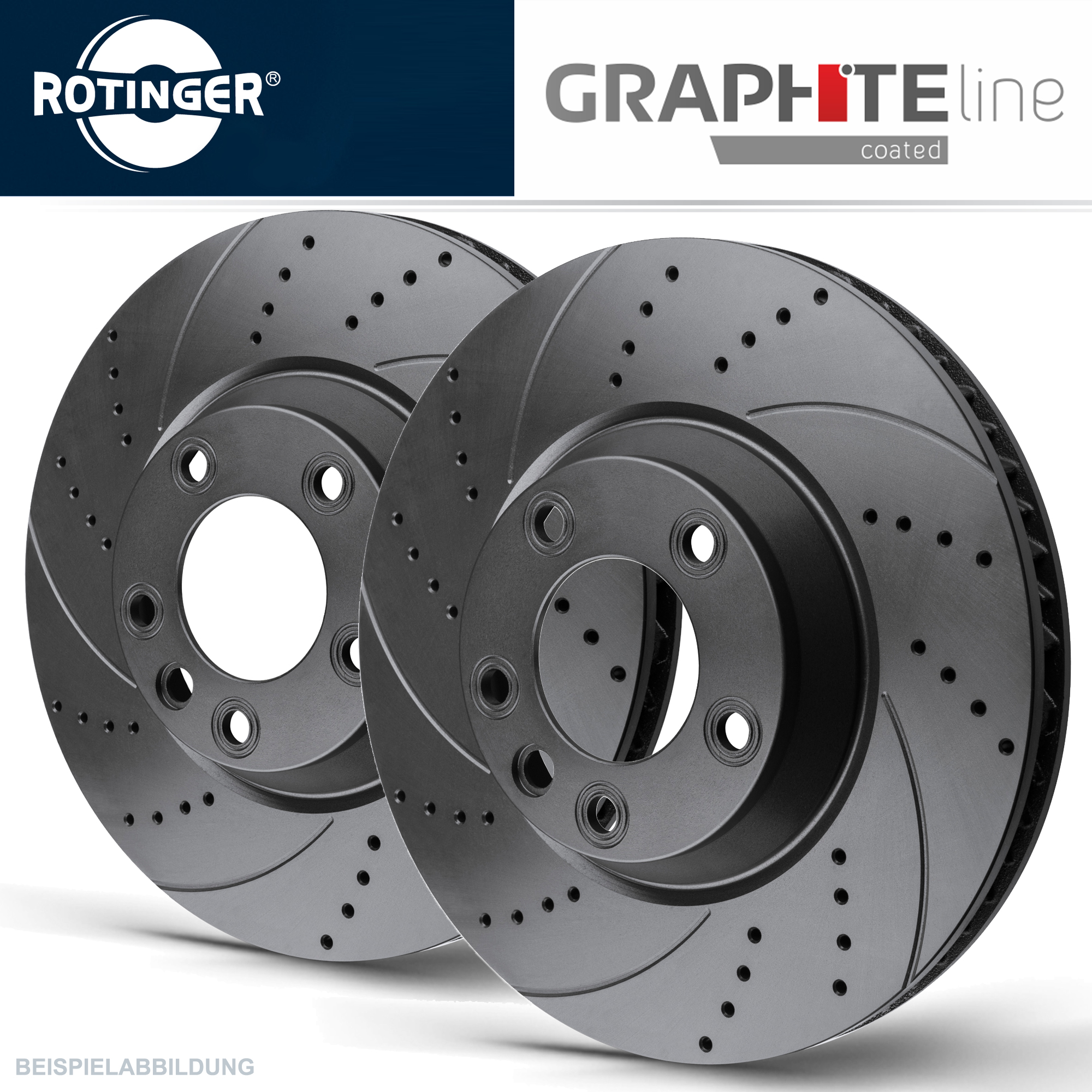 rotinger graphite line sport bremsscheiben vorne audi a3. Black Bedroom Furniture Sets. Home Design Ideas