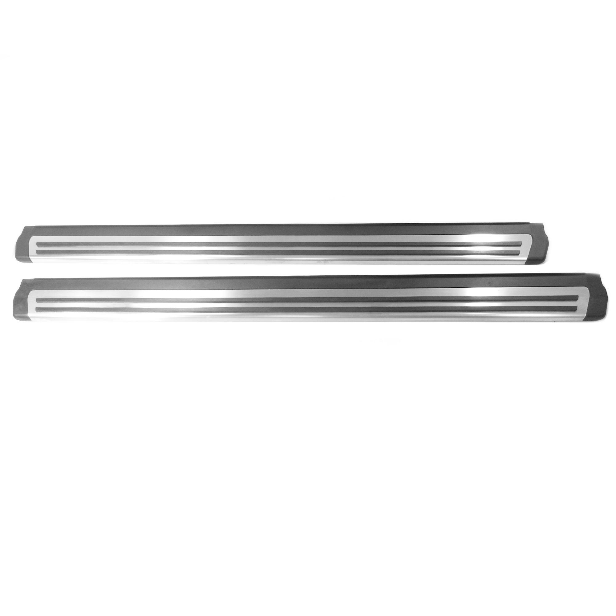 Aluminium Trittbretter Einstiegsleisten - VW Tiguan 5N