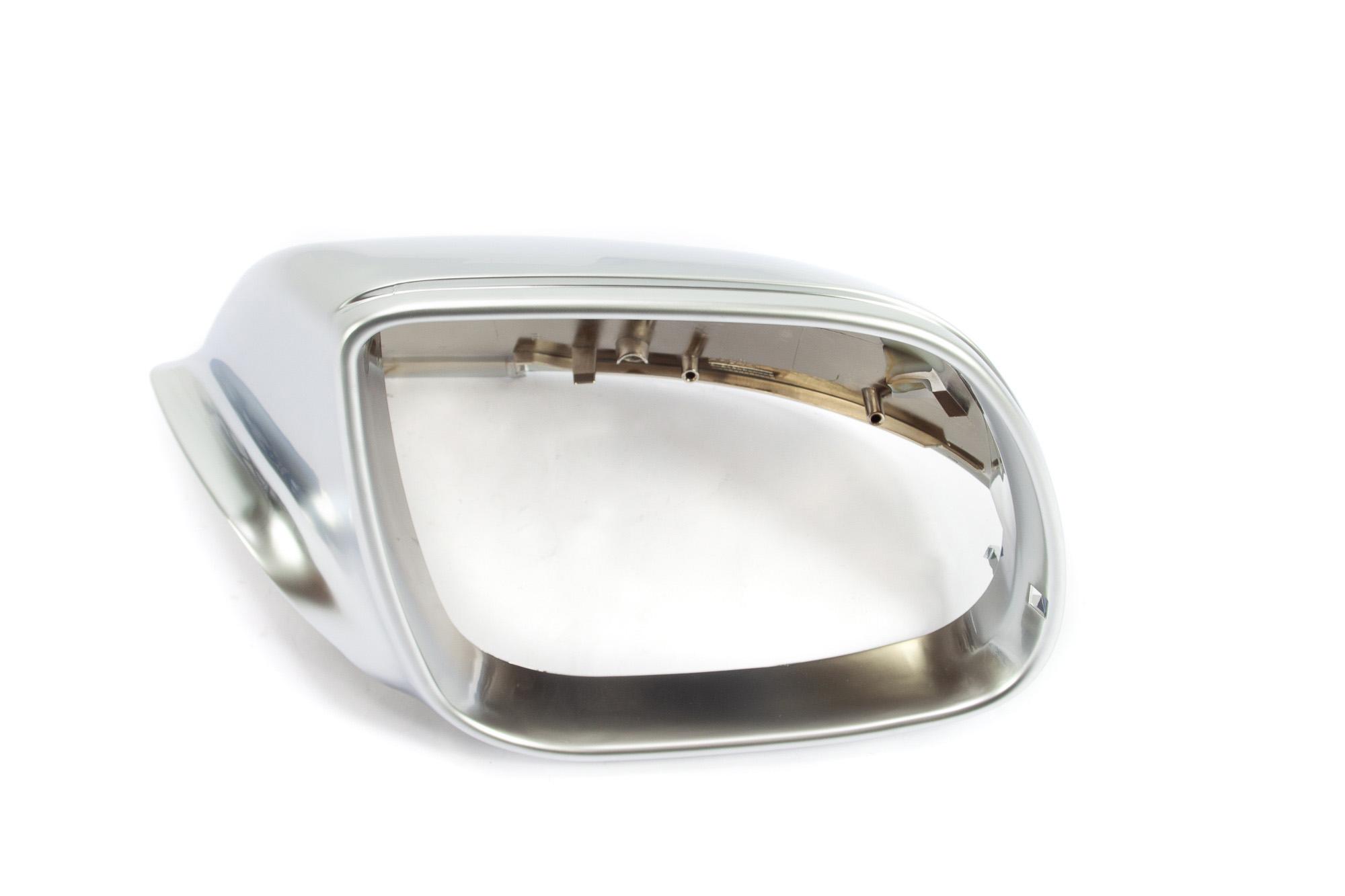 Aluminium Style Spiegelkappen - Audi Q5 ohne Spurwechselassistent
