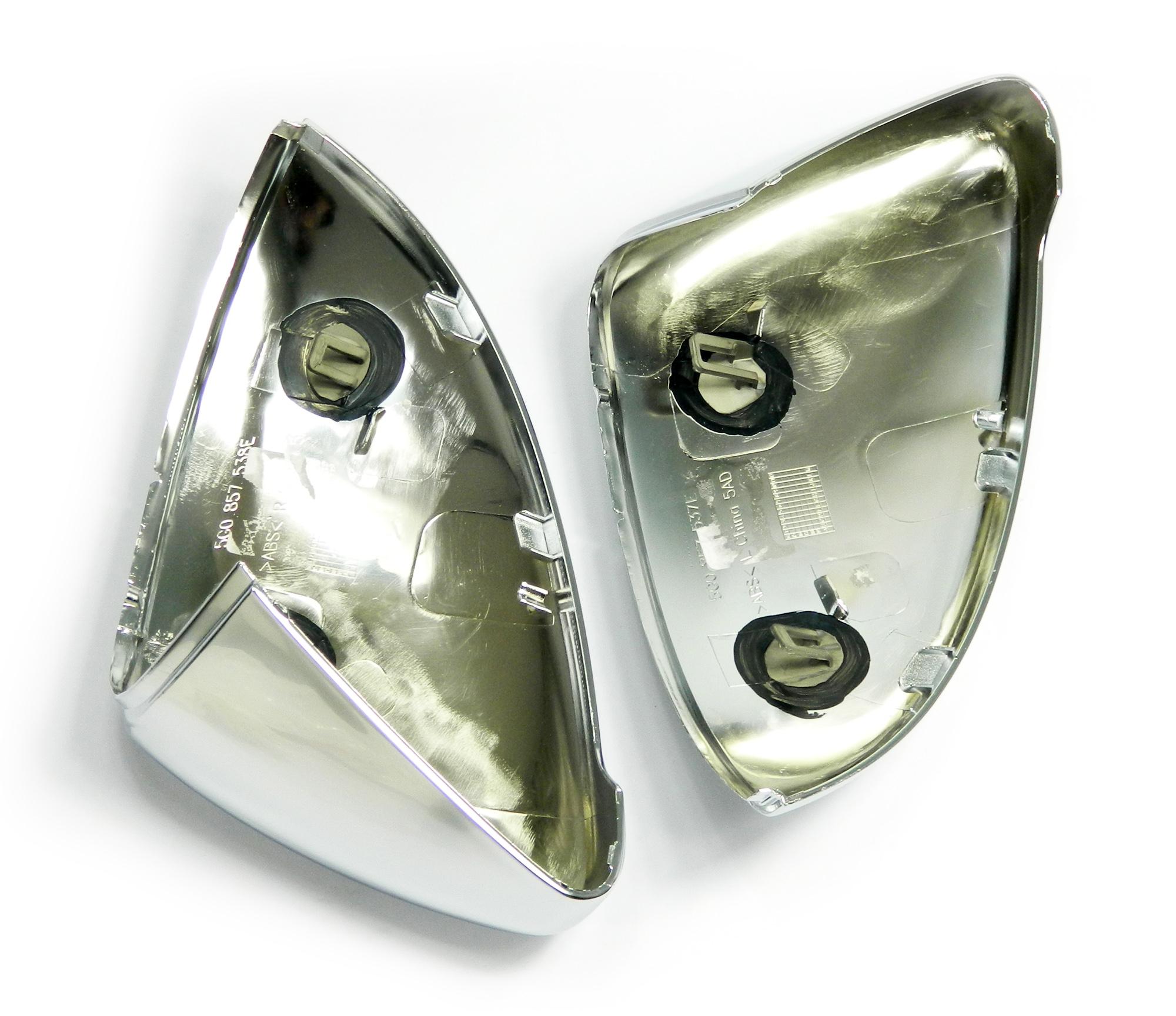 Aluminium Style Spiegelkappen - VW Golf VII, GTI, GTD
