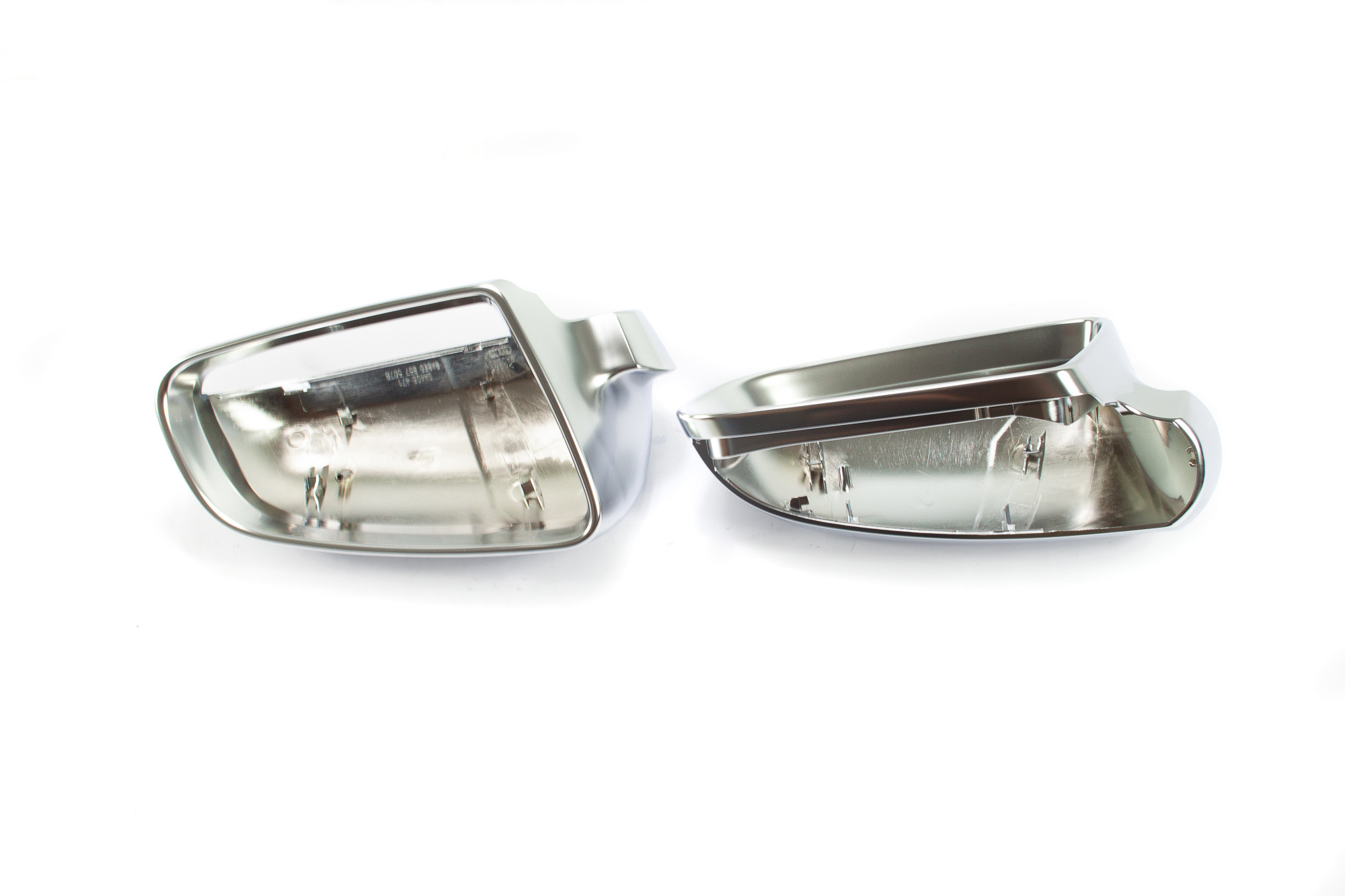 Aluminium Style Spiegelkappen - VW Golf VI, GTI, Touran