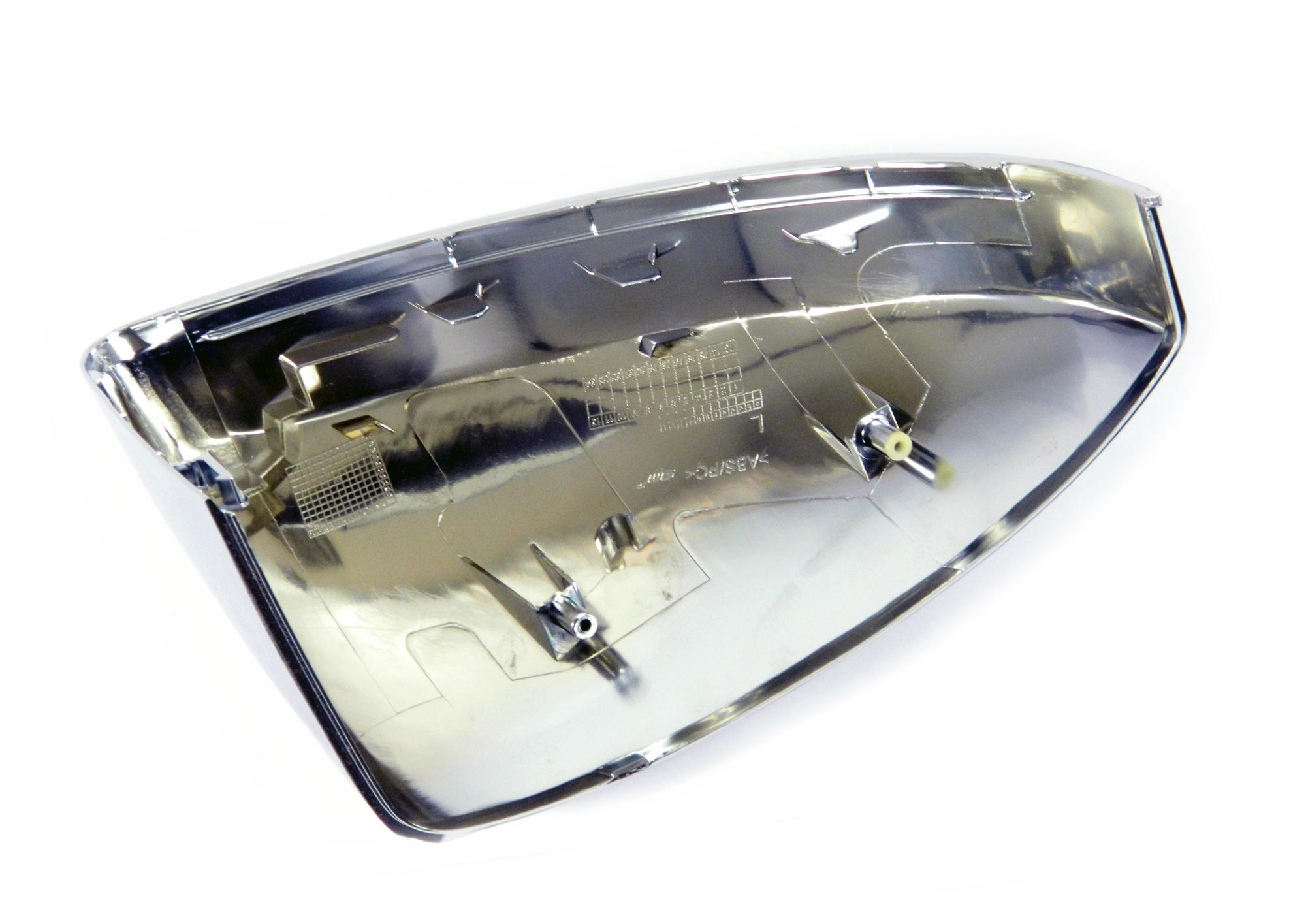 Aluminium Style Spiegelkappen - Audi TT MK3 8S ab Bj 15