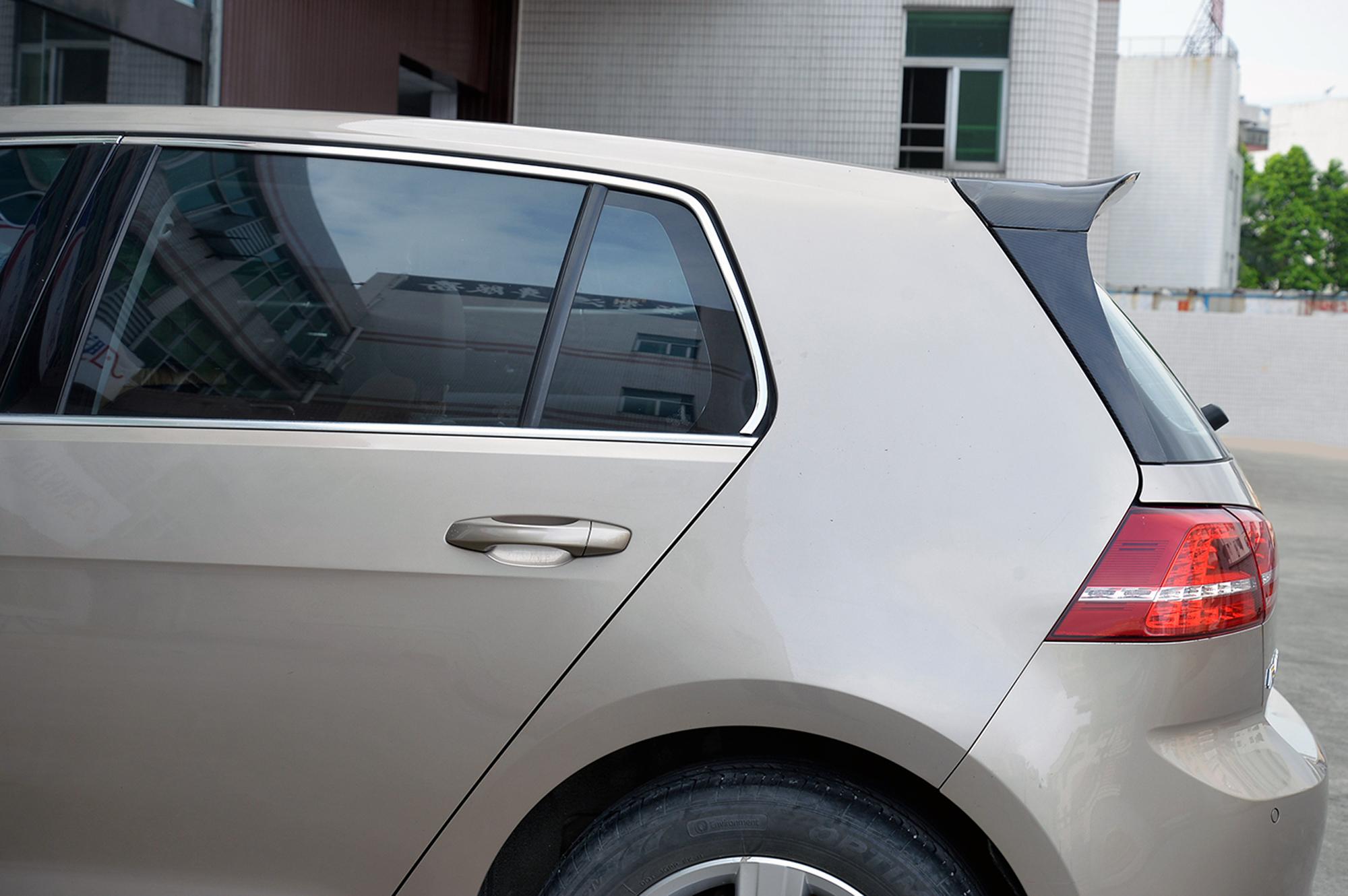 Carbon Heckspoiler - VW Golf VII TSI TDI