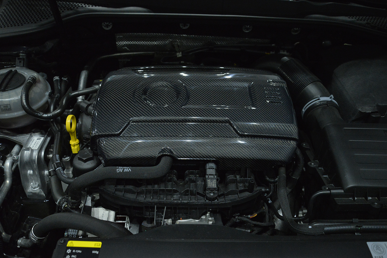 Carbon Motorabdeckung - VW GOLF VII GTI ab Bj. 14
