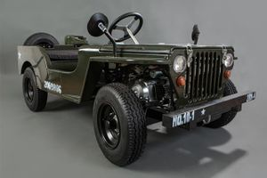 JEEP WILLY ARMY GREEN SPEED EDITION 001
