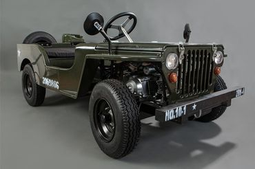 JEEP WILLY CAMOUFLAGE SPEED EDITION 001