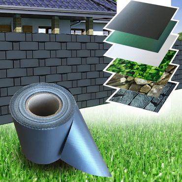 PVC Zaun Sichtschutz Sichtschutzfolie VARIATION – Bild 8