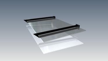 Vordachträger für Glasvordach VDTS – Bild 7