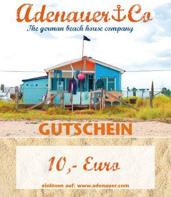 Geschenkgutschein 10,- EUR - E-Mail Versand