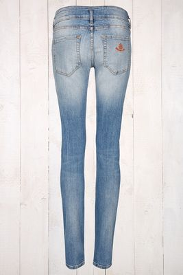 Hose Smilla light blue A&Co