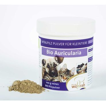 Bio Auricularia Pulver für Tiere – Bild 1